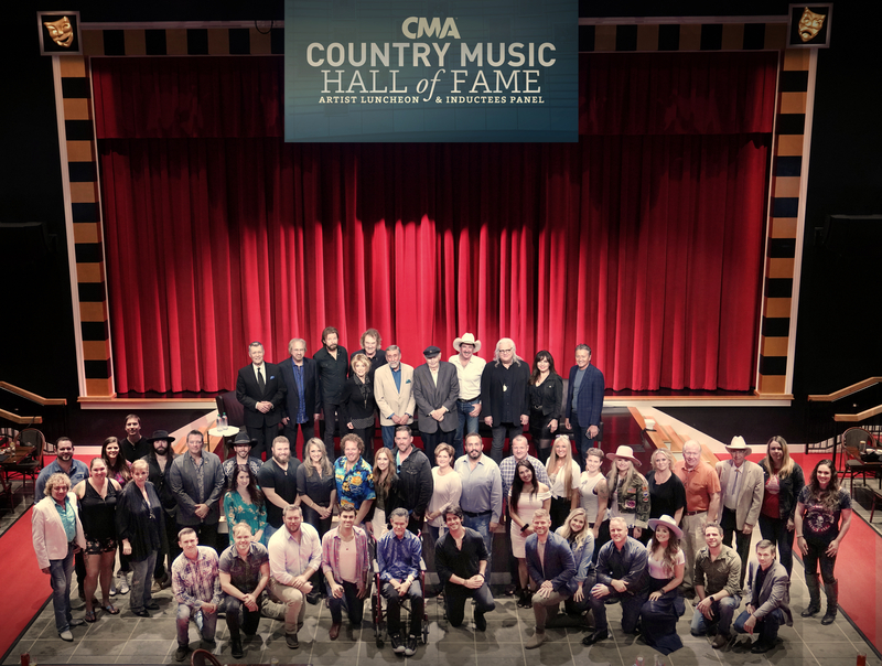 Cerrito Dines With 2019 Country Music Hall of Fame Inductees During Annual CMA Artist Luncheon